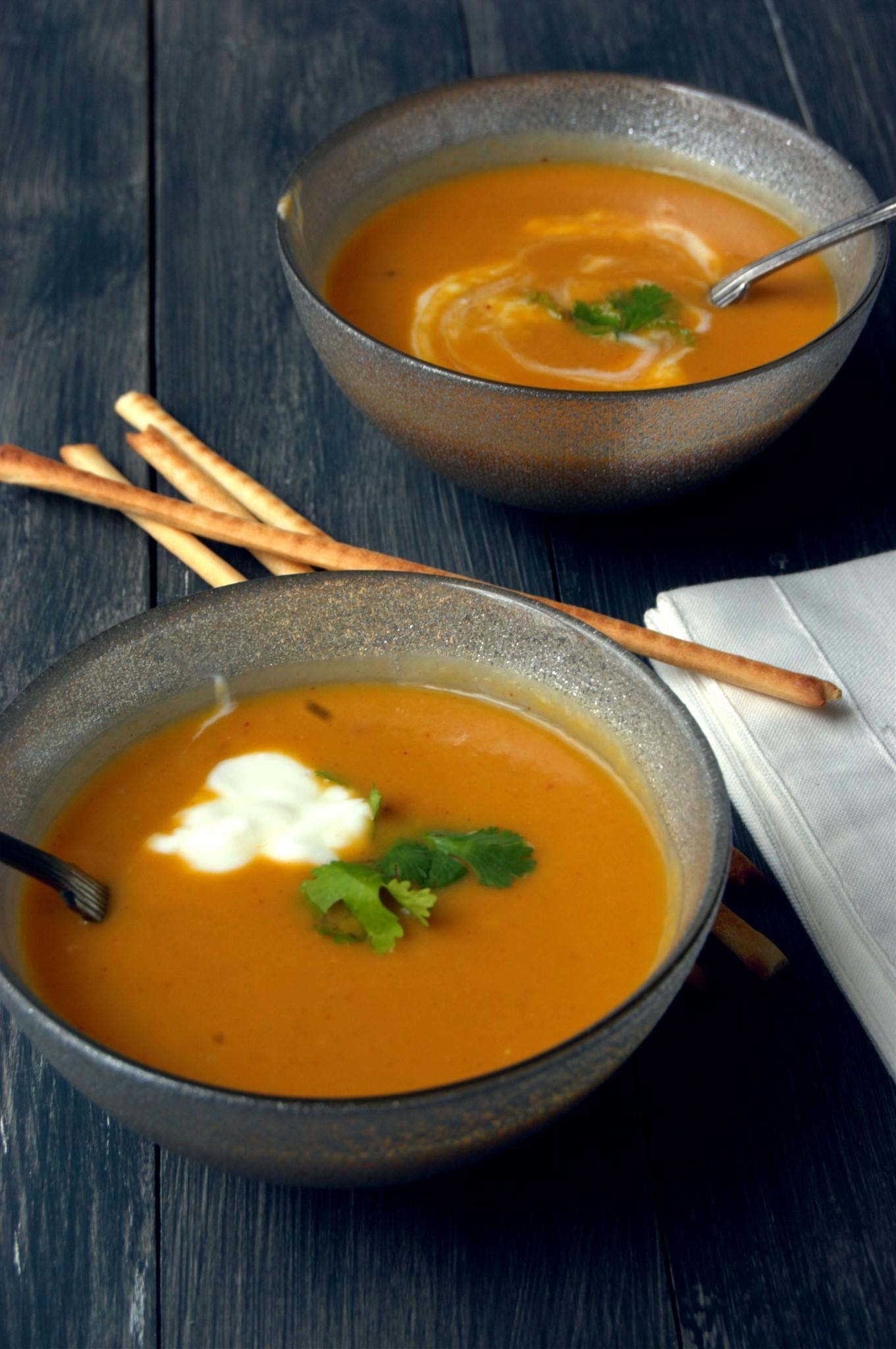 Acorn Squash Soup Recipesbnb