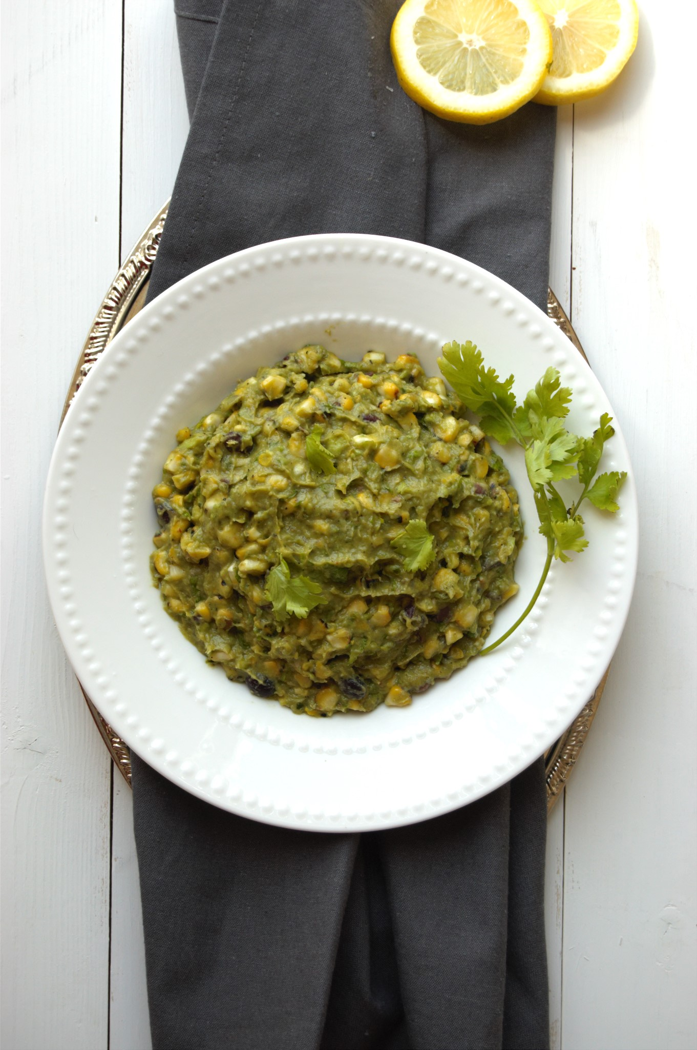 ... for 2013 04 09 Spicy Avocado Dip With Roasted Corn And Black Beans